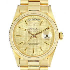 Rolex President Yellow Gold